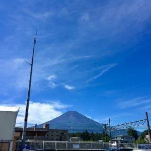 アクティビティレポート(富士登山)