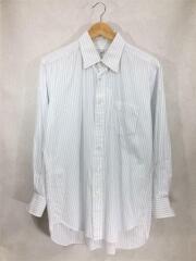 長袖シャツ/41-82/ホワイト/白/ストライプ/Yシャツ/カッターシャツ/メンズ