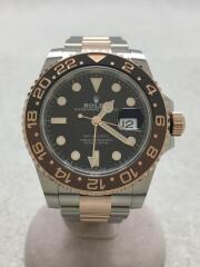 126711CHNR/GMT-MASTER2/自動巻腕時計/GMTマスター2/ランダム/黒文字盤/