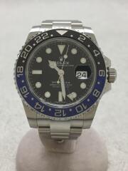 116710BLNR/GMT-MASTER2/自動巻腕時計/GMTマスター2/ランダム/ブルー