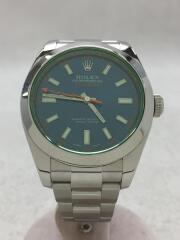 116400GV/MILGAUSS/自動巻腕時計/ミルガウス/ランダム/グリーンガラス