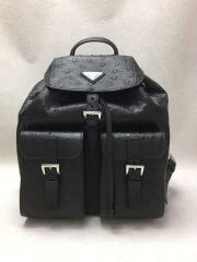 リュック/1BZ006/オーストリッチ/ブラック/レザー/STRUZZO/NERO/バックパック/黒/鞄