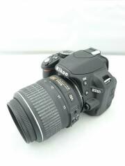 デジタル一眼カメラ D3100 200mmダブルズームキット [ブラック]