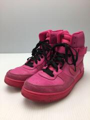 WMNS AIR FEATHER HIGH/ウィメンズエアフェザーハイ/ピンク/407904-601/26cm/ヒ