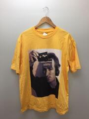 Tシャツ/XL/コットン/イエロー/DECKHED T-SHIRT