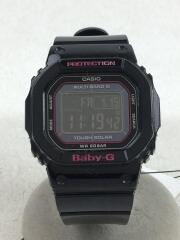 BGD-5000/ソーラー腕時計/デジタル/BLK/BLK