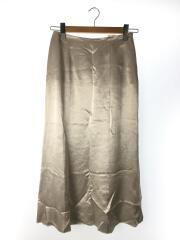 19SS/ロングスカート/38/アセテート/SLV/無地/19513313