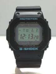 ソーラー腕時計・G-SHOCK/デジタル/ラバー/BLK/BLK/GW-M5610BA
