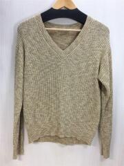 セーター(薄手)/38/コットン/YLW/03-9101750-335-038