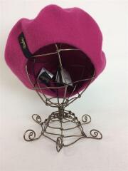 ベレー帽/FREE/ウール/PUP/無地/B80001-X