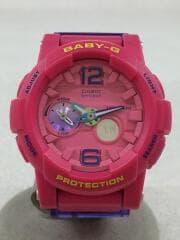 クォーツ腕時計・Baby-G/デジアナ/ピンク/BGA-180-4B3JF