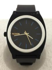 クォーツ腕時計/アナログ/ブラック/MINIMAL