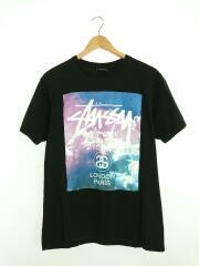 Tシャツ/M/コットン/ブラック