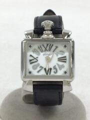 Napoleone Baby/6035/00610/クォーツ腕時計/アナログ/レザー/ブラック