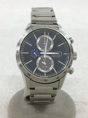 ソーラー腕時計/アナログ/ステンレス/V172-0AP0/クロノグラフ/634462
