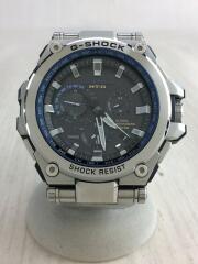 ソーラー腕時計・G-SHOCK/アナログ/シルバー/MTG-G1000D-1A2JF/箱、コマ付