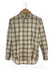 マルチチェックシャツ/36/コットン/BEG/チェック/3A00413-17