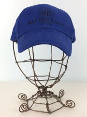 18SS/BB BALENCIAGA MODE CAP/バレンシアガ/キャップ/--/コットン/ブルー/無地// /