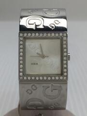 ゲス/クォーツ腕時計/アナログ/ステンレス/シルバー