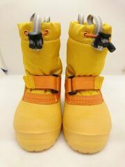 キッズ靴/13cm/ブーツ/ナイロン/YLW