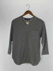 AD2008/WC-T015/長袖Tシャツ/S/コットン/マルチカラー/ボーダー