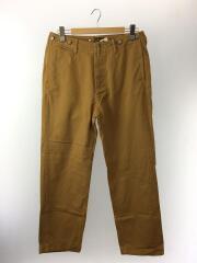 ストレートパンツ/34/コットン/CML/1920 Chino Twill Trouser Cuffed Pantsp