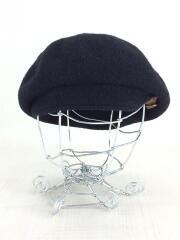 ベレー帽/ウール/BLK/HLC10-721-09/シンチベルト付
