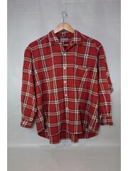 AD1989/HB-050490/長袖シャツ/--/ウール/RED
