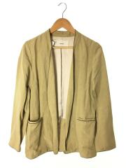 20SS/Piping Linen Jacket/12010108/38/レーヨン/BEG
