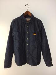 キルテッドシャツ/キルティングジャケット/M/コットン/IDG