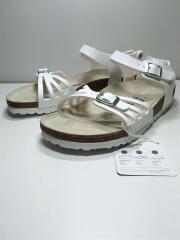 サンダル/24cm/白/ホワイト/レザー/BALI BS COMFORT SANDAL/