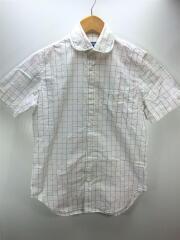 半袖シャツ/XS/コットン/ホワイト/WE-B035