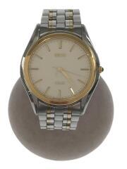腕時計/アナログ/ステンレス/クリーム/シルバー/CRM/SLV/8J41-6160