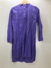 1611-149-2052/長袖シャツ/--/コットン/パープル/紫