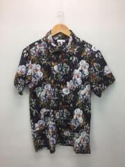 19ss/Camp Shirt Botany Printed Lawn/キャンプシャツ/S/ブラック/総柄