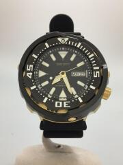 PROSPEX/200m防水/自動巻腕時計/アナログ/BLK/4R36-05T0/770075