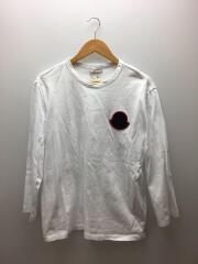 19SS/MAGLIA GIROCOLLO/長袖Tシャツ/L/コットン/WHT/E10918040600