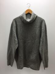 17AW/STAR ELBOW PATCH TURTLE NECK KNIT/SOPH-178100/XL/GRY