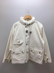 Carmel Jacket/L/ダック地/コットン/ホワイト