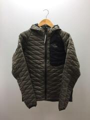 EXCORE Thermaflash Hoody/M/ナイロン/KHK/PW22JL32