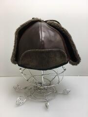 Horse Hide Flight Cap/ホースハイドフライトキャップ/7 1/2/馬革/BRW