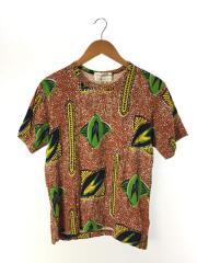 Tシャツ/M/コットン/マルチカラー/総柄