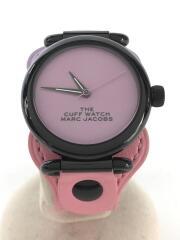 THE CUFF WATCH/MJ0120179293/クォーツ腕時計/アナログ/--/PNK