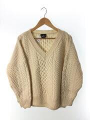 セーター(厚手)/one/ウール/IVO/2019model/サイドスリット/19-080-230-023-3-0