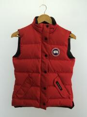 ダウンベスト/XS/--/RED/FREESTYLE VEST/2832L