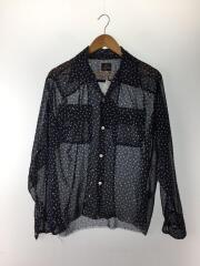 20SS/Cut-Off Bottom Classic Shirt/S/ポリエステル/NVY/GL202