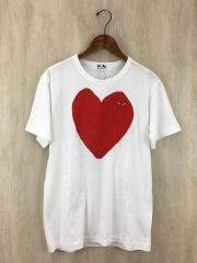 17AW/AZ-T085/ワッペンTシャツ/L/コットン/WHT/