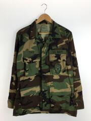 米軍実物/ミリタリージャケット/--/コットン/KHK