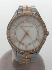 クォーツ腕時計/アナログ/--/WHT/型番:MK-3979