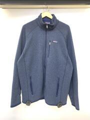 Better Sweater Jacketブルゾン/XL/ポリエステル/ネイビー/無地